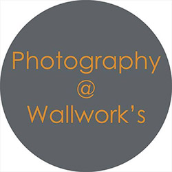Photography at Wallworks logo