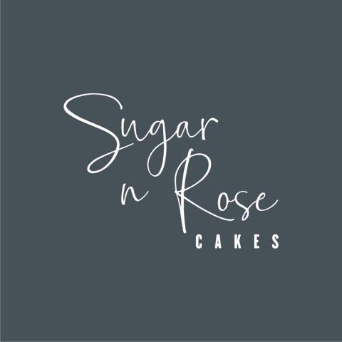 Sugar n Rose Cakes logo